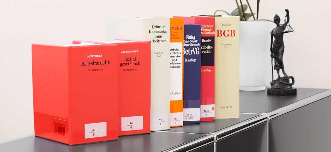 Bücher über Arbeitsrecht